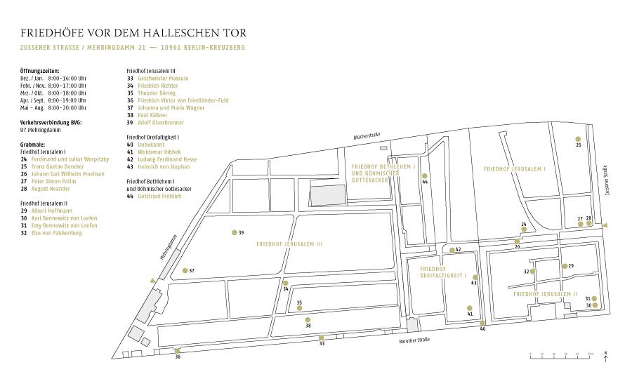 Berliner Kulturgeschichte auf Grabsteinen