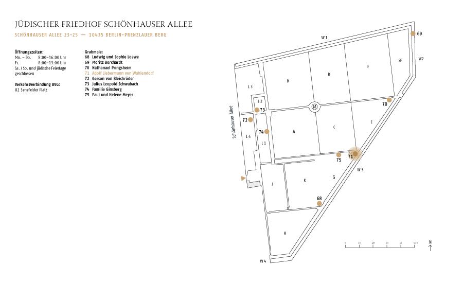 Erbbegräbnis Adolf Liebermann von Wahlendorf